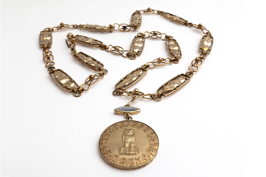 Medallion for the chain of office for the deans of the faculties, faculty of philosophy