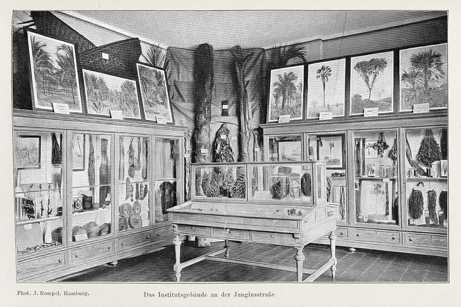 Room of the palms 1897